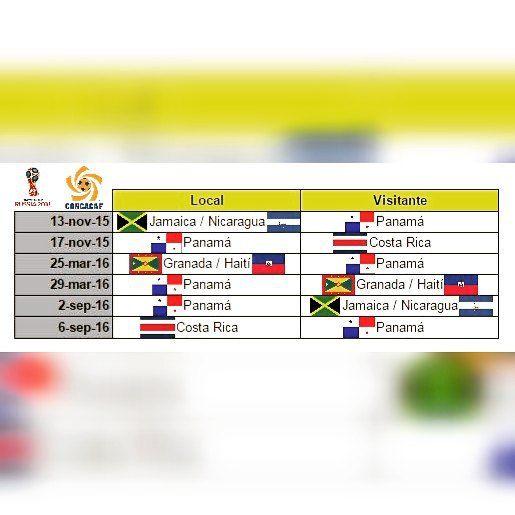Ya definidos los emparejamientos para la Cuarta Ronda de las Eliminatorias de la Concacaf hacia #Rusia2018 para nuestra Sele ubicada en el Grupo B. La Cuarta Ronda se jugará desde el 13 de noviembre de 2015 al 6 de septiembre de 2016. #VamosSeleCarajo #VamosPanamáCarajo