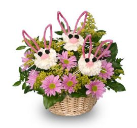 Hop to Sending Your Some-Bunny Special Beautiful Easter Flowers!   Bloomin' Blog