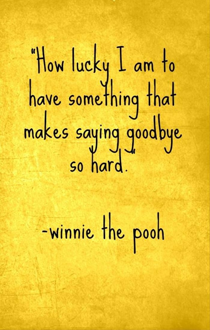 Pooh Quote About Saying Goodbye: 144 Best Images About I LoVe WiNNie The Pooh On Pinterest