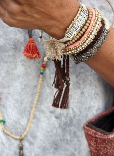 Bracelets, Pochette, Sac banane... - Tendances de Mode