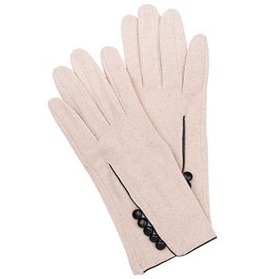 Achilleas Accessories - Προϊόντα : Knitwear / Γάντια / ΓΑΝΤΙΑ ΜΟΝΟΧΡΩΜΑ ΜΕ ΚΟΥΜΠΙΑ