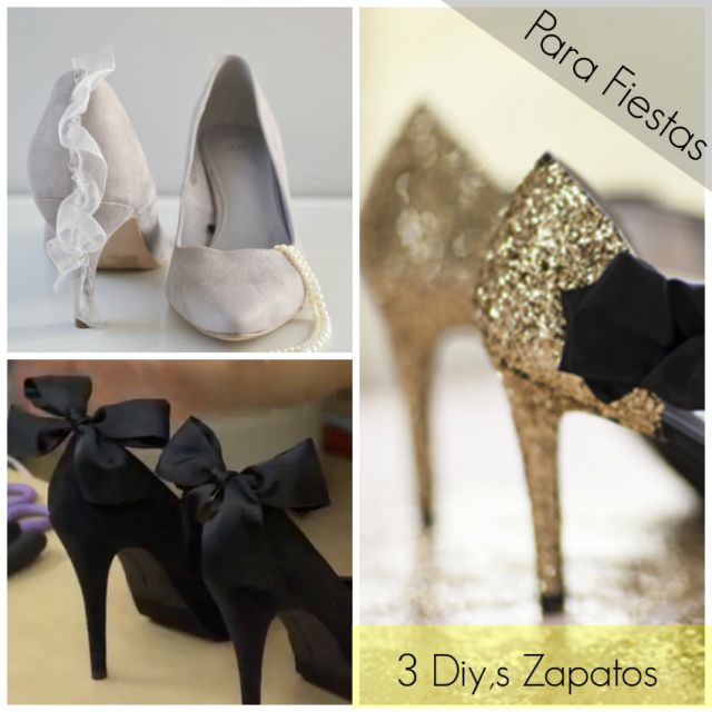 Reciclar zapatos para fiestas! - Manualidades Gratis