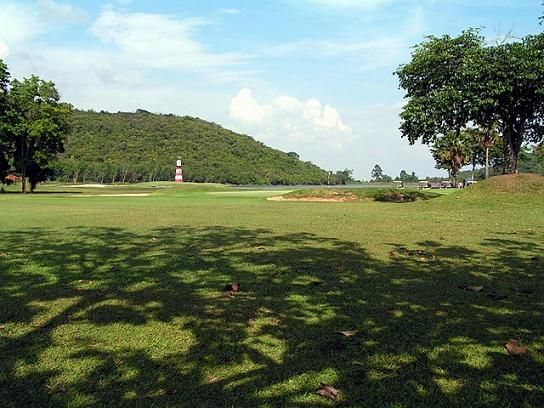 Plutaluang Golf Course in Pattaya, Thailand