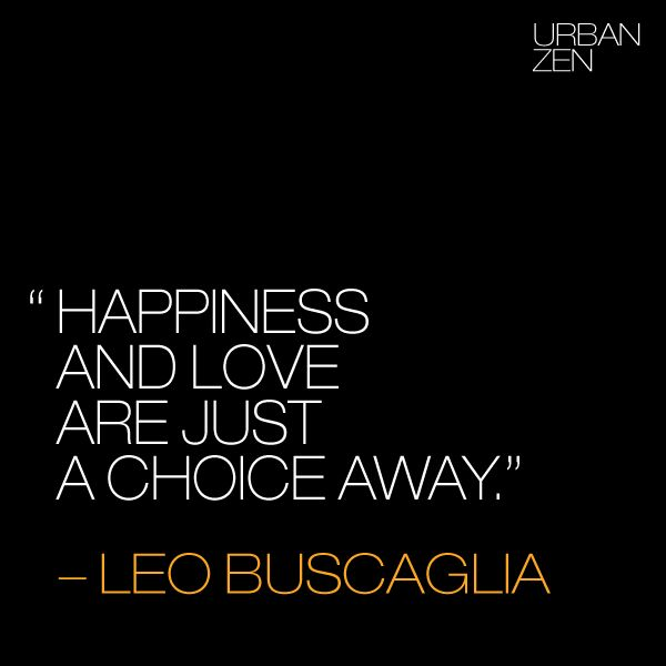Happiness and Love are just a choice away. ACIM