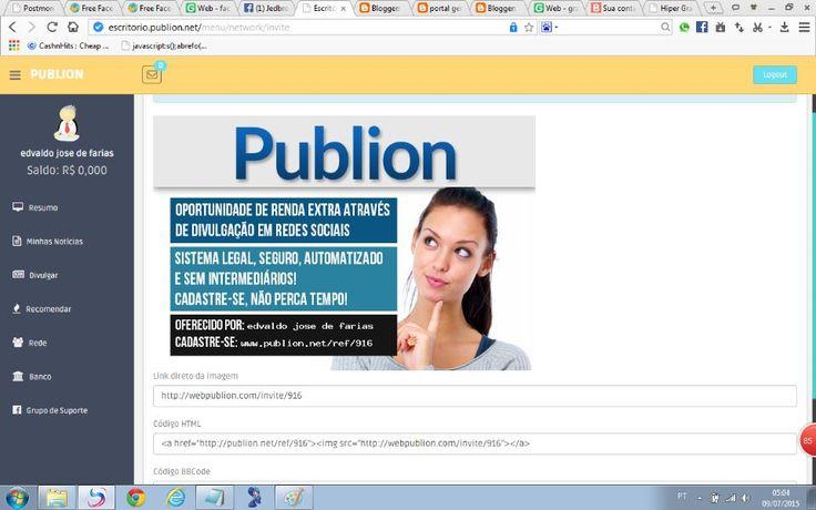 portal geracao popstmoney: PUBLION PAGA 3,00 A CADA  IL CLIQUES SAQUE 30,00