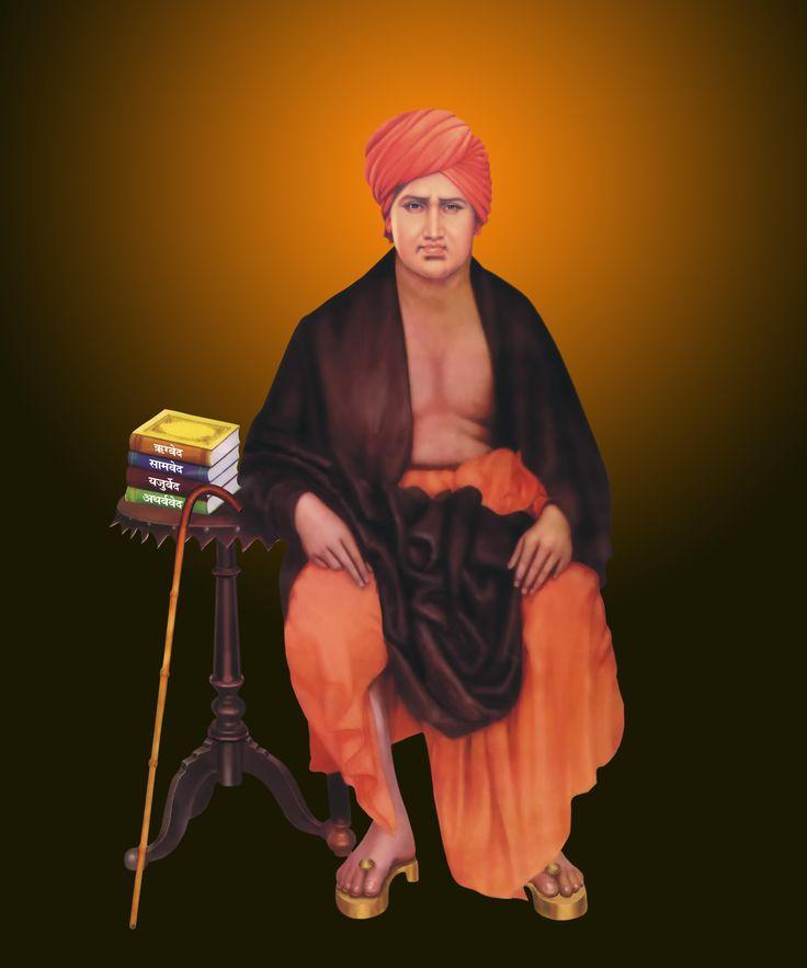 #MaharishiDayanand a great man of #India Who teach us real #Vedic #religious after #Mahabharat. Happy Birthday Maharishi Dayananda, founder of #AryaSamaj.