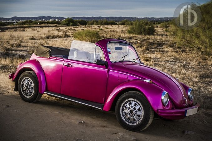 Hot Pink Buggy | Volkswagen Punch Bugs | Hot pink, Pink ...