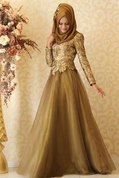 Gamze Polat Haki Eliz Abiye Elbise
