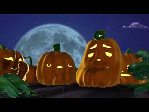 Singing Pumpkins 3D Animation Halloween - Great way to show voice and how it related to writing