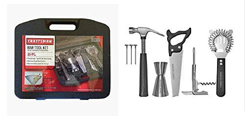 10 Piece Drink Mixer Bar Kit with Carftsman Tool Box Case Craftsman http://www.amazon.com/dp/B00ZYGEG78/ref=cm_sw_r_pi_dp_Dj4owb121AZSK
