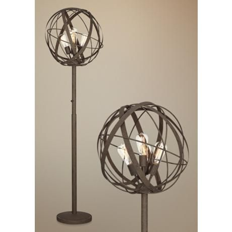 1000 Ideas About Industrial Floor Lamps On Pinterest