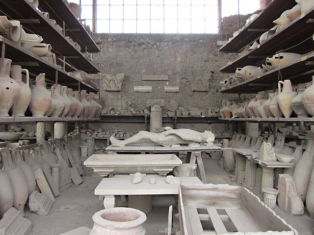 Pompeii; more items that have been uncovered