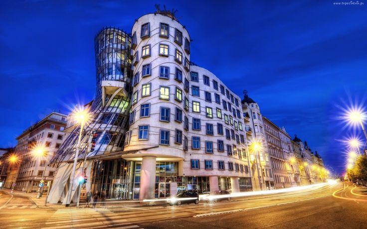 Czechy, Praga, Tańczący Dom, Dekonstruktywizm