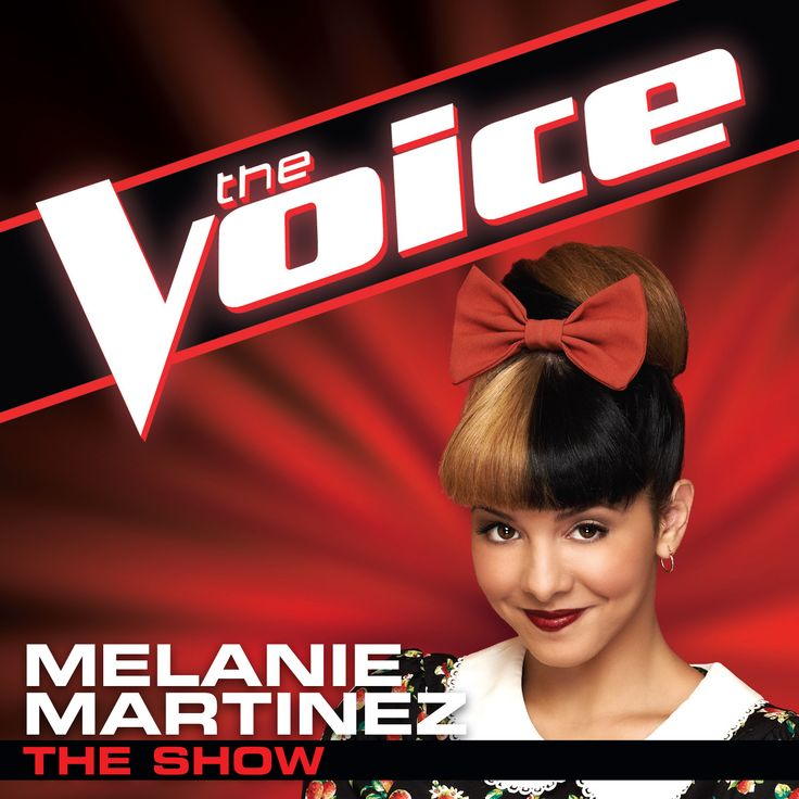 "Download ""The Show"" on iTunes to vote for Melanie Martinez! #TheVoice #Top6 #TeamAdam  https://itunes.apple.com/us/album/show-voice-performance-single/id583757504"
