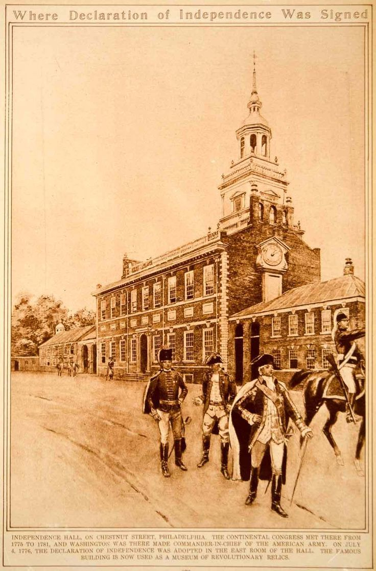 1923 Rotogravure Independence Hall Philadelphia American Revolution Historic | eBay