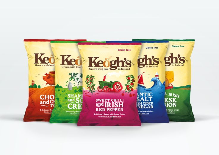 Keogh's Crisps Packaging Design – Brandpoint London