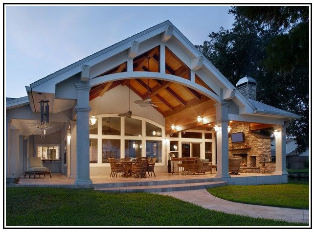Gable Patio Roof Designs Lasher Contracting Www