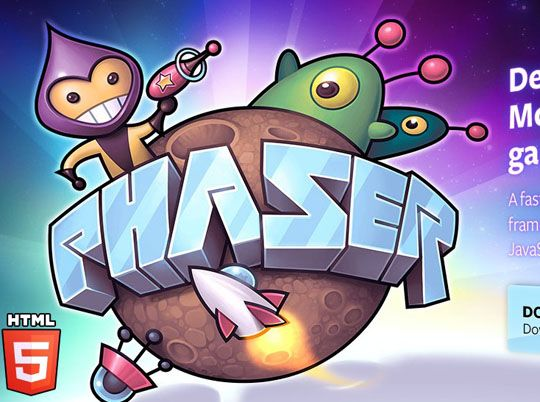 Phaser is a light-weight 2D #game #framework for making #HTML5 games for desktop and mobile browsers. #develop