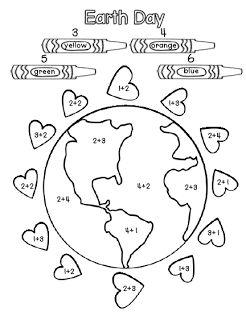 Earth Day Math Freebie
