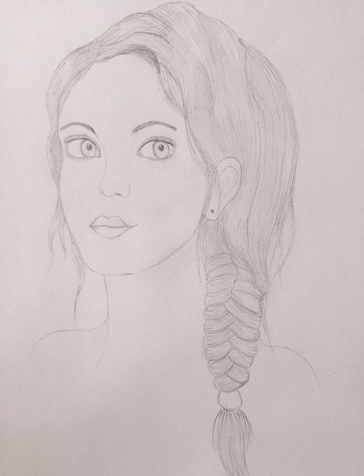 #dibujo #rostro #mujer