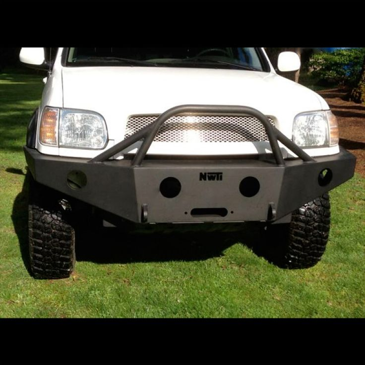 2003 to 2006 Toyota Tundra Double Cab only Weld Together Winch Bumper Kits