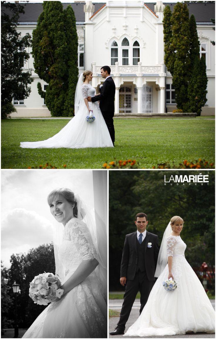 Best esküvői ruha - Pronovias kollekció - Tímea menyasszonyunk  http://mobile.lamariee.hu/eskuvoi-ruha/pronovias-2015/best