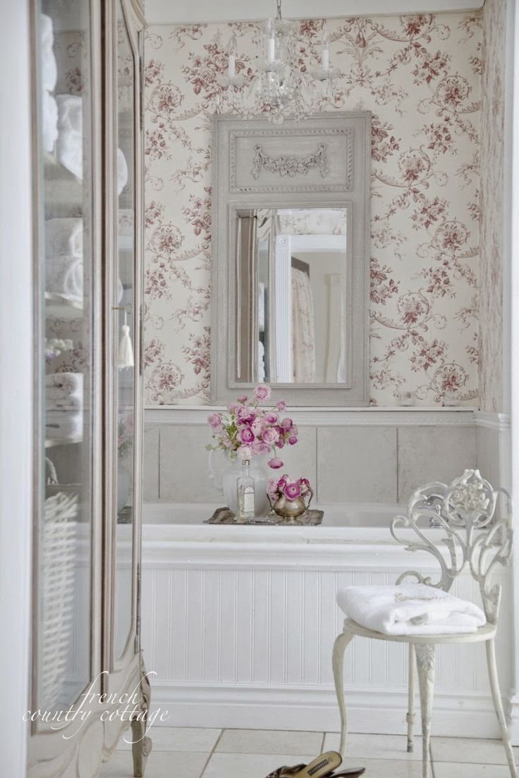 French country bathrooms - French Country Cottage