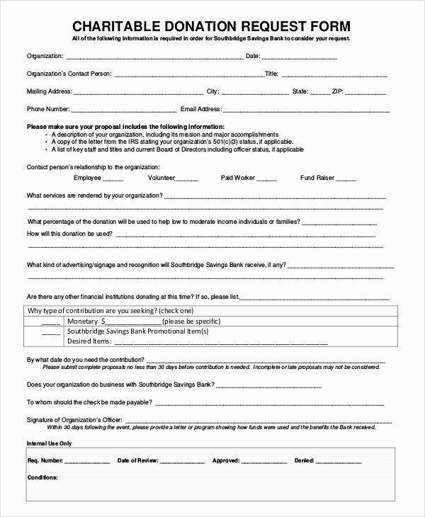 Donation Request Form Template Inspirational 10 Sample Donation Request Forms Pdf Word Donation Request Form Donation Request Donation Request Letters