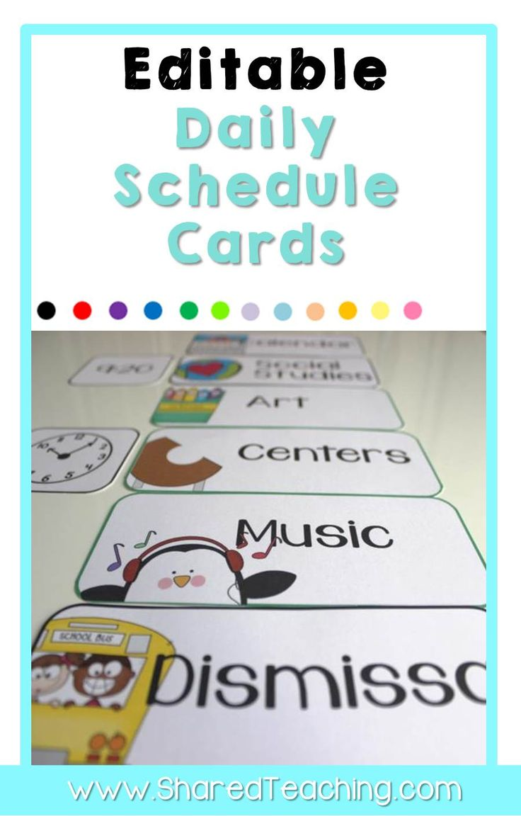 preschool schedule cards 1000 ideas about daily schedule cards on 882
