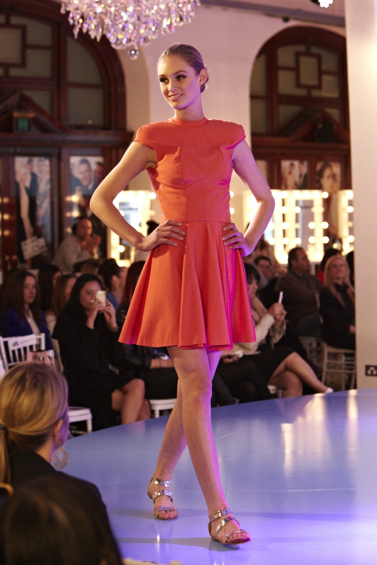 Red Dress with Madison and Foxtel Project Runway Australia @ 30 Days of Fashion and Beauty