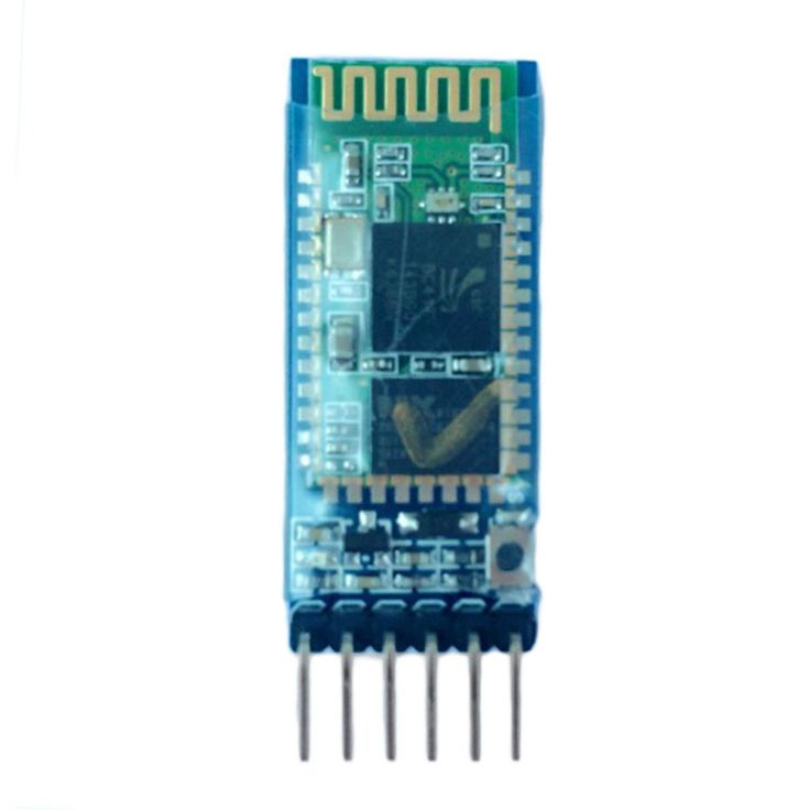 1pc HC-05 6 Pin Wireless Bluetooth RF Transceiver Module Serial For Arduino Free Shipping Eletronic Hot  EUR 2.98  Meer informatie  http://ift.tt/2hh570N #aliexpress