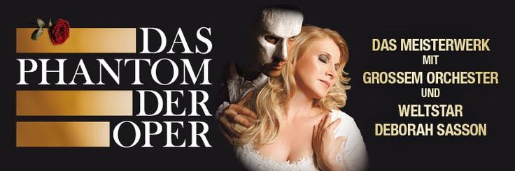 Das Phantom der Oper - das Original von Sasson/Sautter - eines der erfolgreichsten Tournee-Musicals in Europa mit Weltstar Deborah Sasson und Axel Olzinger in den Hauptrollen. Vom 23.07.13 bis 01.02.14 an diversen Spielstätten. Tickets: http://www.ticketcorner.ch/phantom-der-oper-neuinszenierung-nach-gaston-leroux-tickets.html?affiliate=TCS=artistPages/tickets=artist=tickets=476672