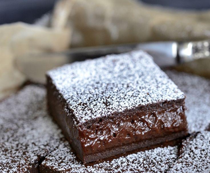 Denne kaken fikk jeg første gang i Frankrike for 25 år siden. Vi bestilte kaken, tok første bit, så på hverandre … og ble helt stille. Dette var uten tvil den beste sjokoladekaken vi noen gang hadde smakt. Etter mye prøving har jeg klartå gjenskape oppskriften. Denne kaken er virkelig den beste sjokoladekaken jeg noen …