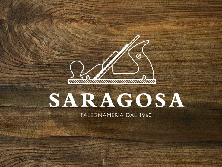 Saragosa Logo, wood, illustration