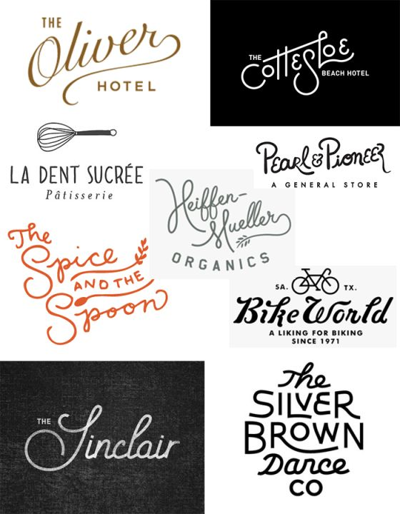 logos with lettering