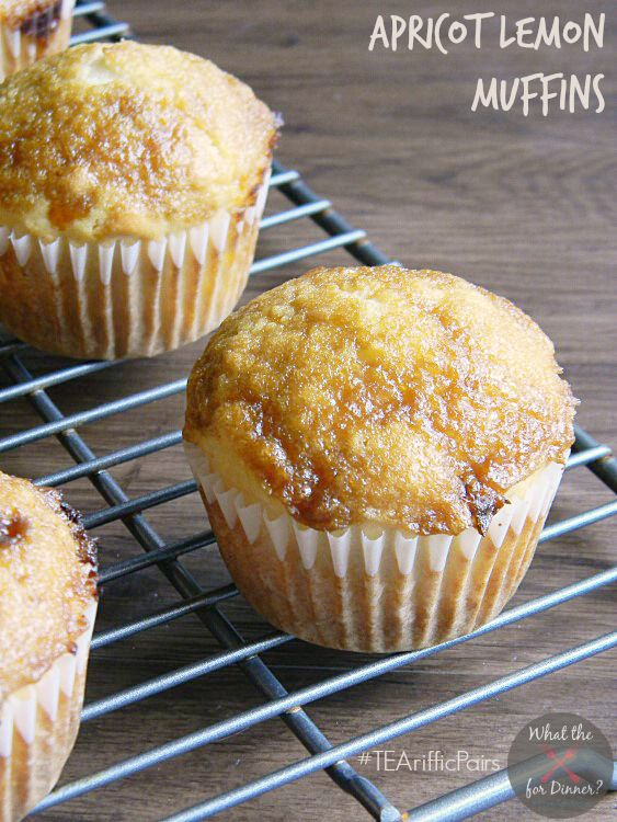 Apricot Lemon Muffins