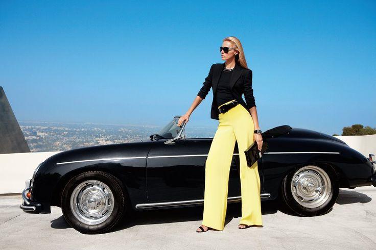 cool car... Ralph Lauren ad...