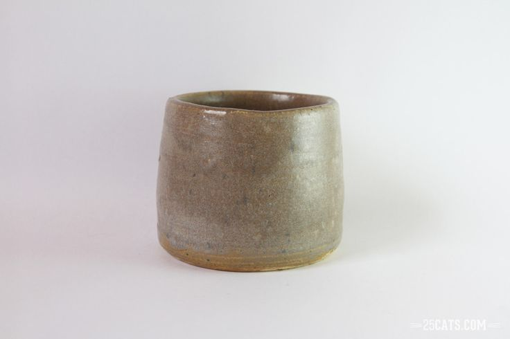 Pristine gray cup