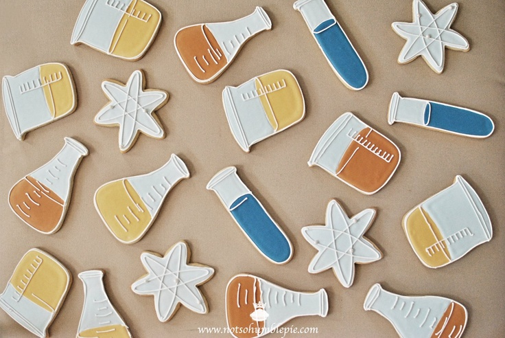 Not So Humble Pie: Science Cookie Cutter Set Giveaway!