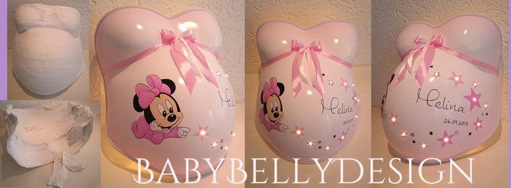 Galerie Babybauchabdruck - BabyBellyDesign | Gipsabdruck vom Babybauch | Babybauchabdruck