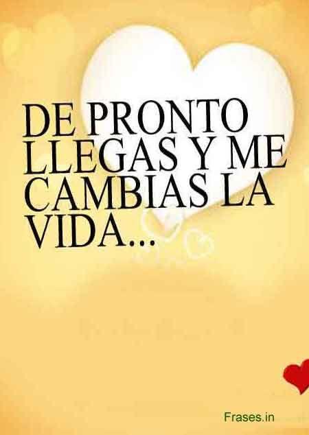 Mensajes De Amor Pasiones Del Corazon 3 Frases Pinterest