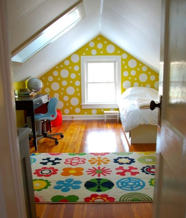 Small attic ideas | source pinterest
