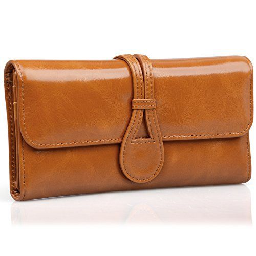 New Trending Purses: JackChris Leather Checkbook Wallets for Women Multi Card Slot with Gift Box, WBXH053 (Brown). JackChris Leather Checkbook Wallets for Women Multi Card Slot with Gift Box, WBXH053 (Brown)   Special Offer: $19.99      433 Reviews 【JackChris】is a trademark registered in the US, UK and other countries. Any unauthorized sellers will certainly bear the legal consequences of...