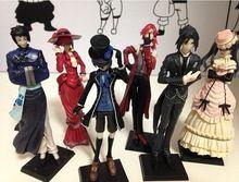 Anime Kuroshitsuji Negro Mayordomo Princess Figura de Acción de Modelo Juguetes de Los Niños Regalo de Cumpleaños la Decoración Del Hogar Artesanía(China (Mainland))