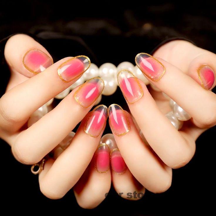 морозко показать дизайн накладных ногтей фото длину