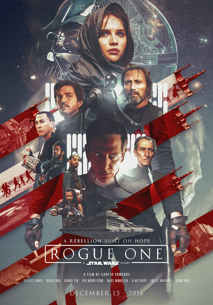 Rogue One by Laura Racero