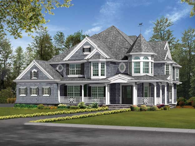 Victorian ranch style house