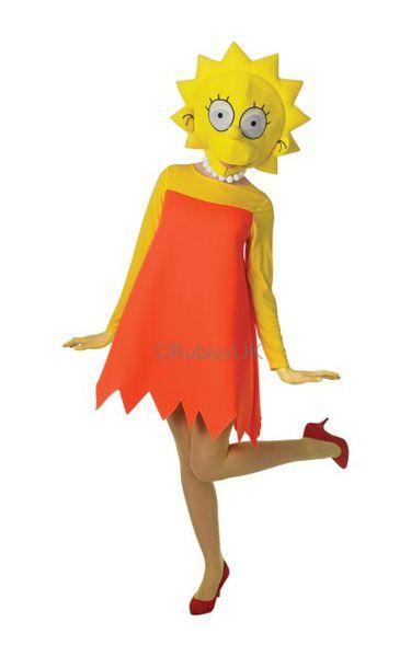 Naamiaisasu; Lisa Simpson Deluxe. Lisensoitu Lisa Simpson Deluxe -naamiaisasu.  Naamiaisasu sisältää: - Mekon - Legginsit - Päähineen - Kaulakorun