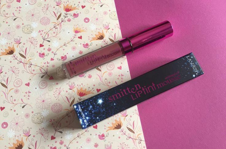 LASplash - Smitten Lip Tint Mousse in Lovestruck.  | Cookies, tea & makeup