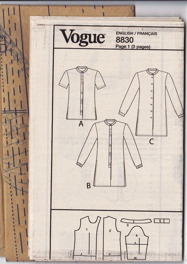 asian styled vest patterns
